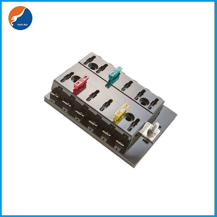 1 in 12 out blade fuse box