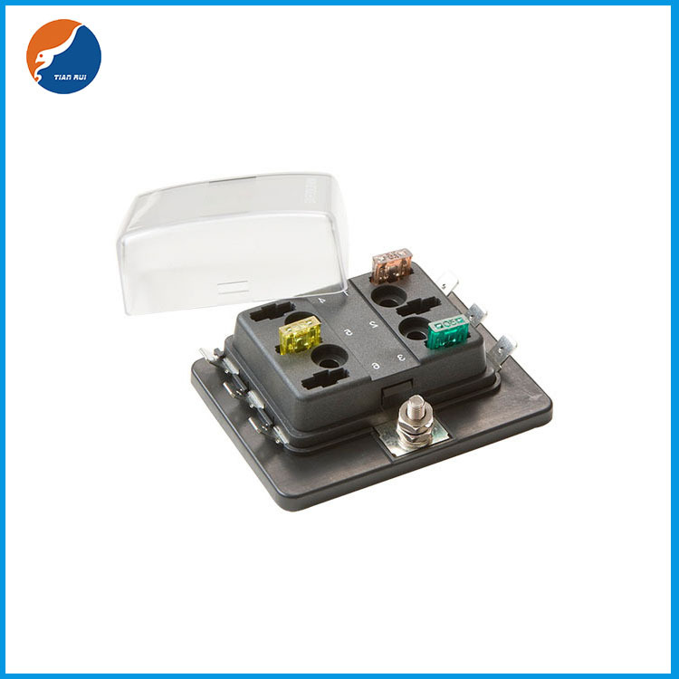 1 in 6 out blade fuse box