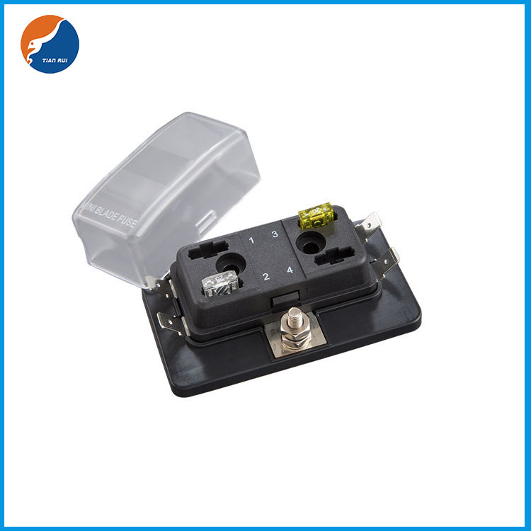 1 in 4 out blade fuse box