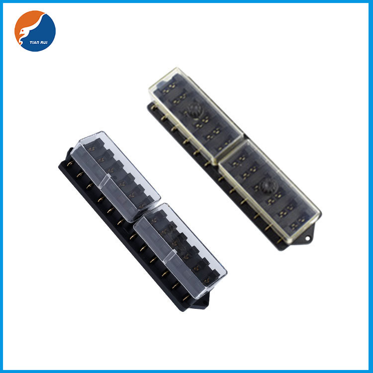 12 in 12 out blade fuse holder