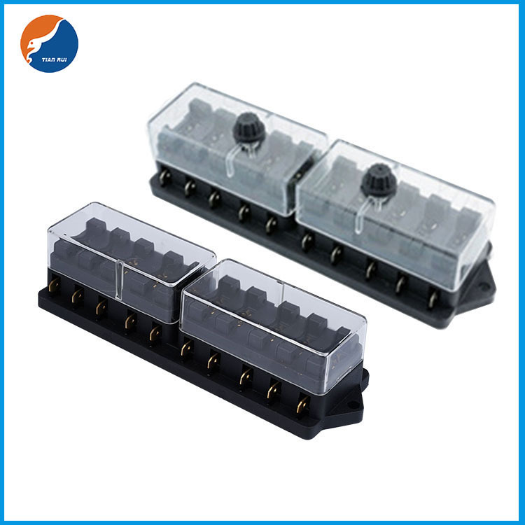 10 in 10 out blade fuse holder