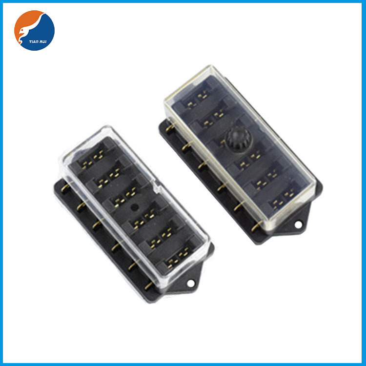 6 in 6 out blade fuse holder