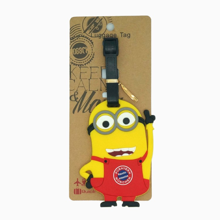 Despicable Me Minions toys Luggage Tag