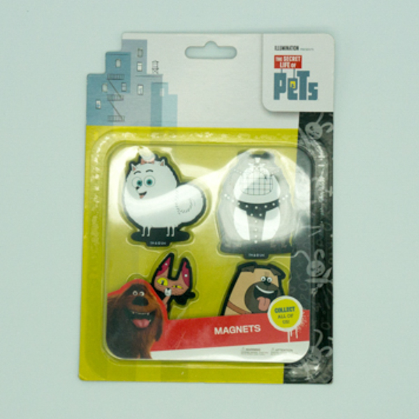 The Secret Life of Pets character 2D pvc fridge magnet