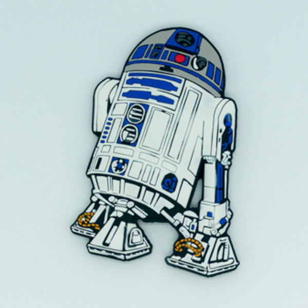 OEM design popular star wars soft pvc fridge magnet