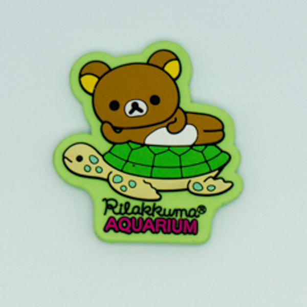 2D Cute Rilakkuma Shaped Fridge Magnet