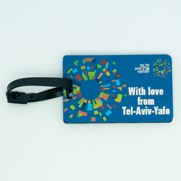 OEM Wholesale Custom Plastic Luggage Tag