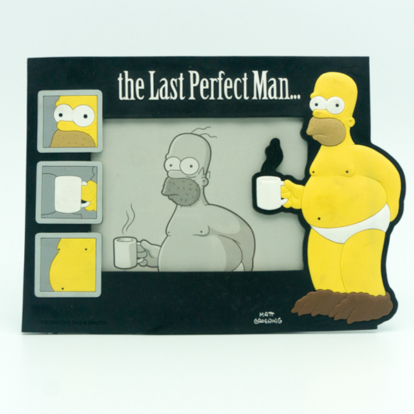 Simpson Homero Plastic Magnet Picture Photo Frame