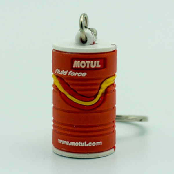 Small Lifelike Gas Container Shaped Keychain