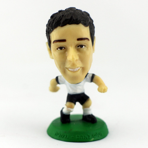 PVC Material Mini Football Player Figurines For Promotion