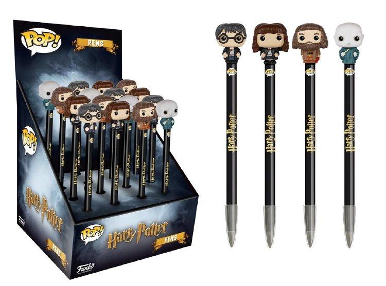 Harry potter pencil topper with eraser