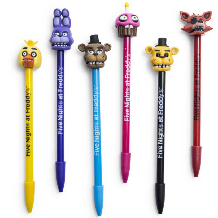 Cartoon character Pencil Topper with erasers