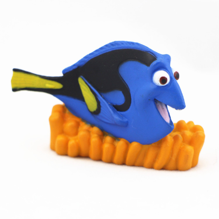 Plastic Decorition Dory Animal Toys