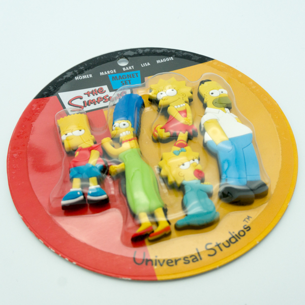 Soft PVC Simpson Family 2D Magnets