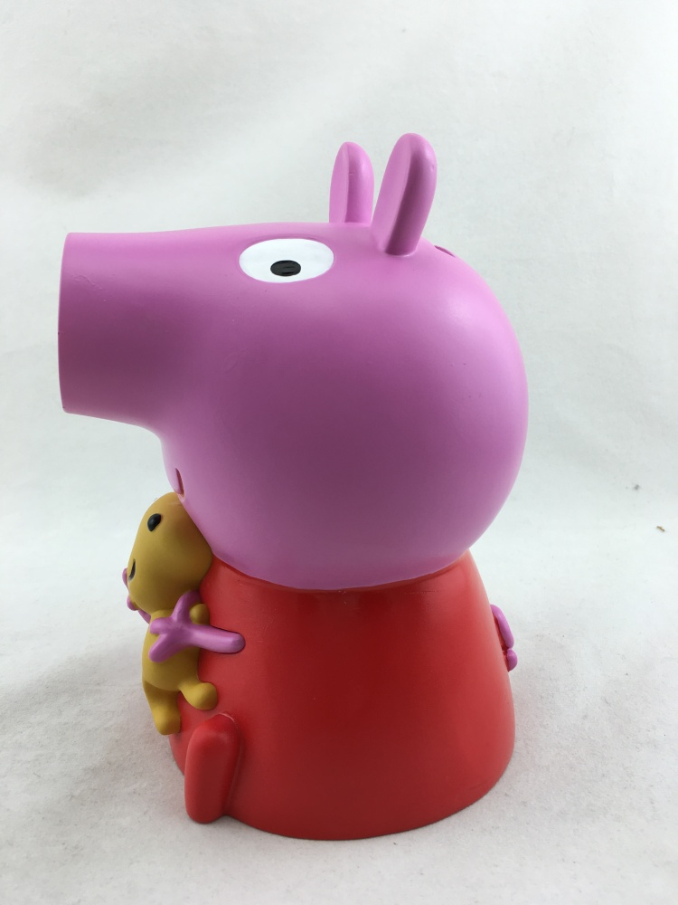 Vinyl Peppa Pig Piggy Bank