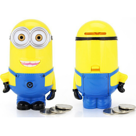 3D Minions Cartoon Figurine Piggy Banks