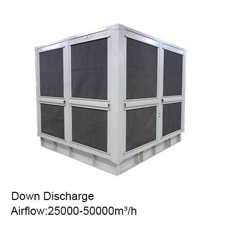 industrial cooling systems roof evaporative cooler water