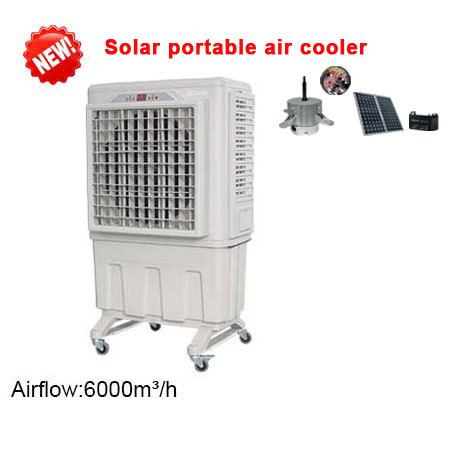 solar air cooler, solar portable air cooler