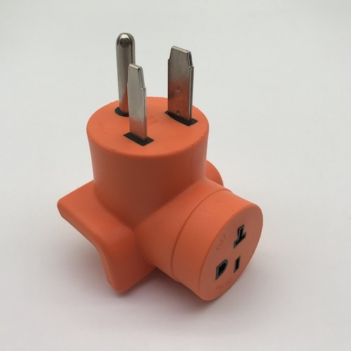 Welder Adapter 6-50P to 6-20R T-slot Item No. AD-116