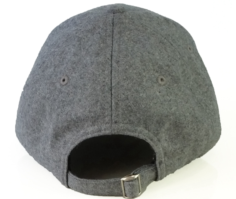 China headwear supplier wool blend material baseball cap