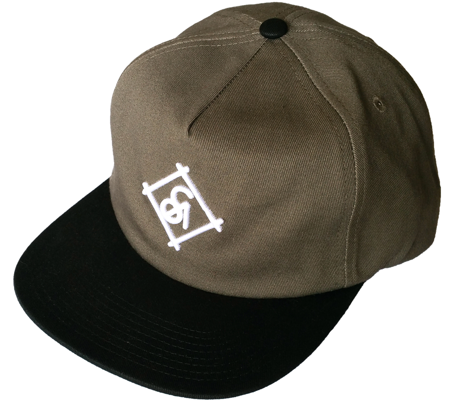 Custom grey cotton unstructured snapback cap supplier