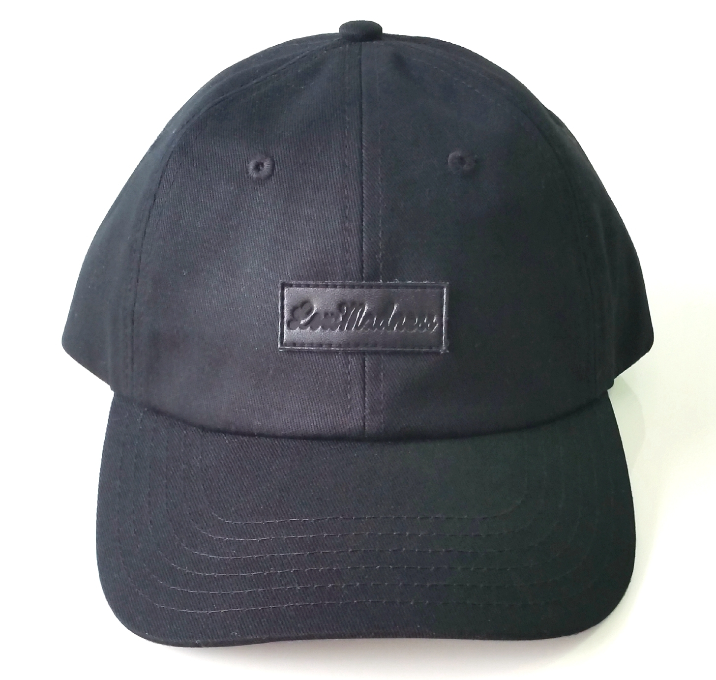 Custom leather patch logo dad hat supplier