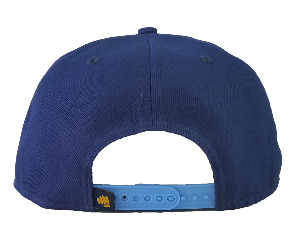 Custom material snapback cap with embroidery logo style