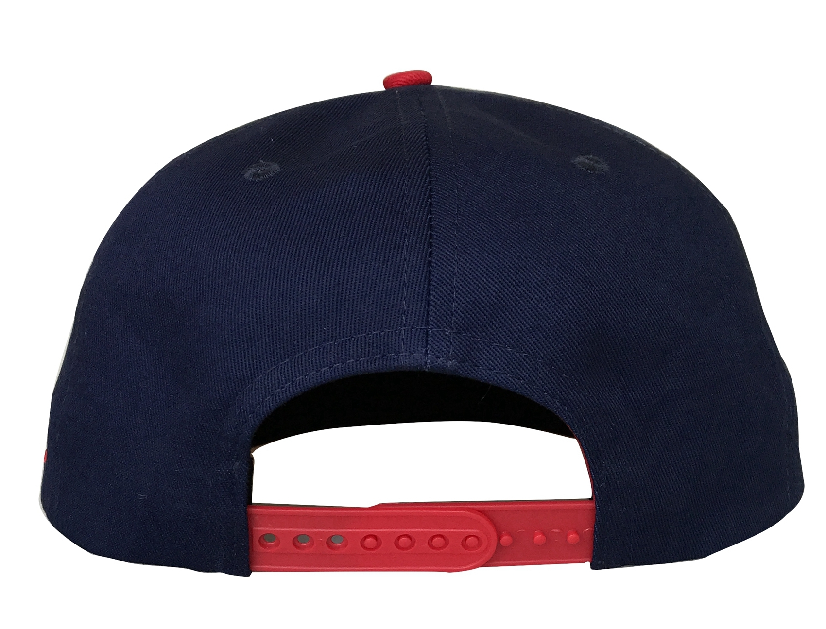 Custom 6 panel snapback cap with red and embroidery logo cap