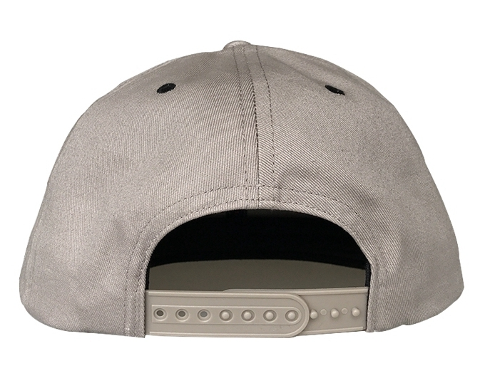Custom design 6 panel grey snapback cap manufacturer