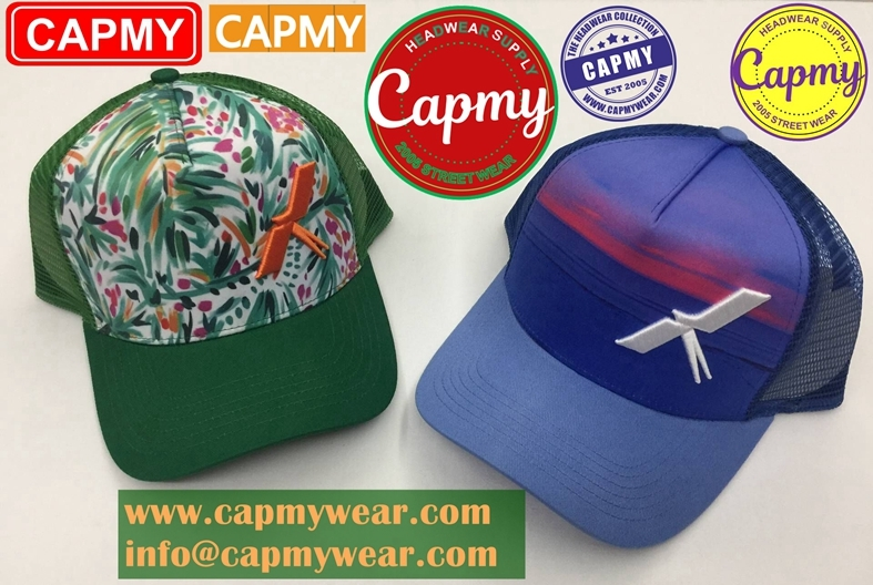 China headwear factory for high quality trucker hat/Mesh hat
