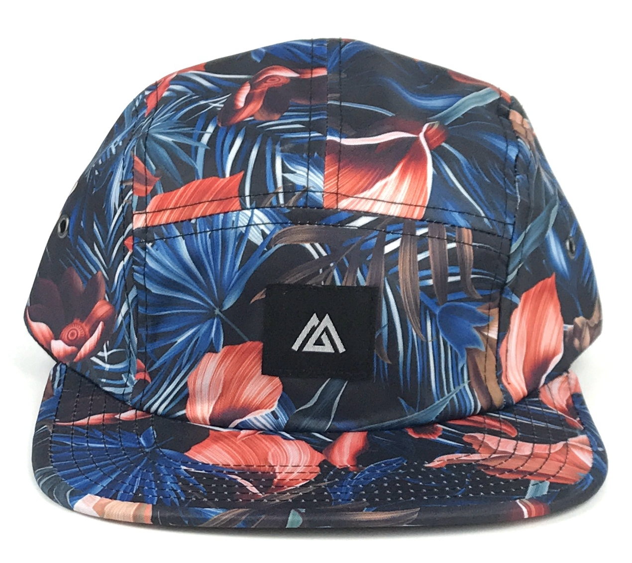 Custom printing 5 panell hat factory in China