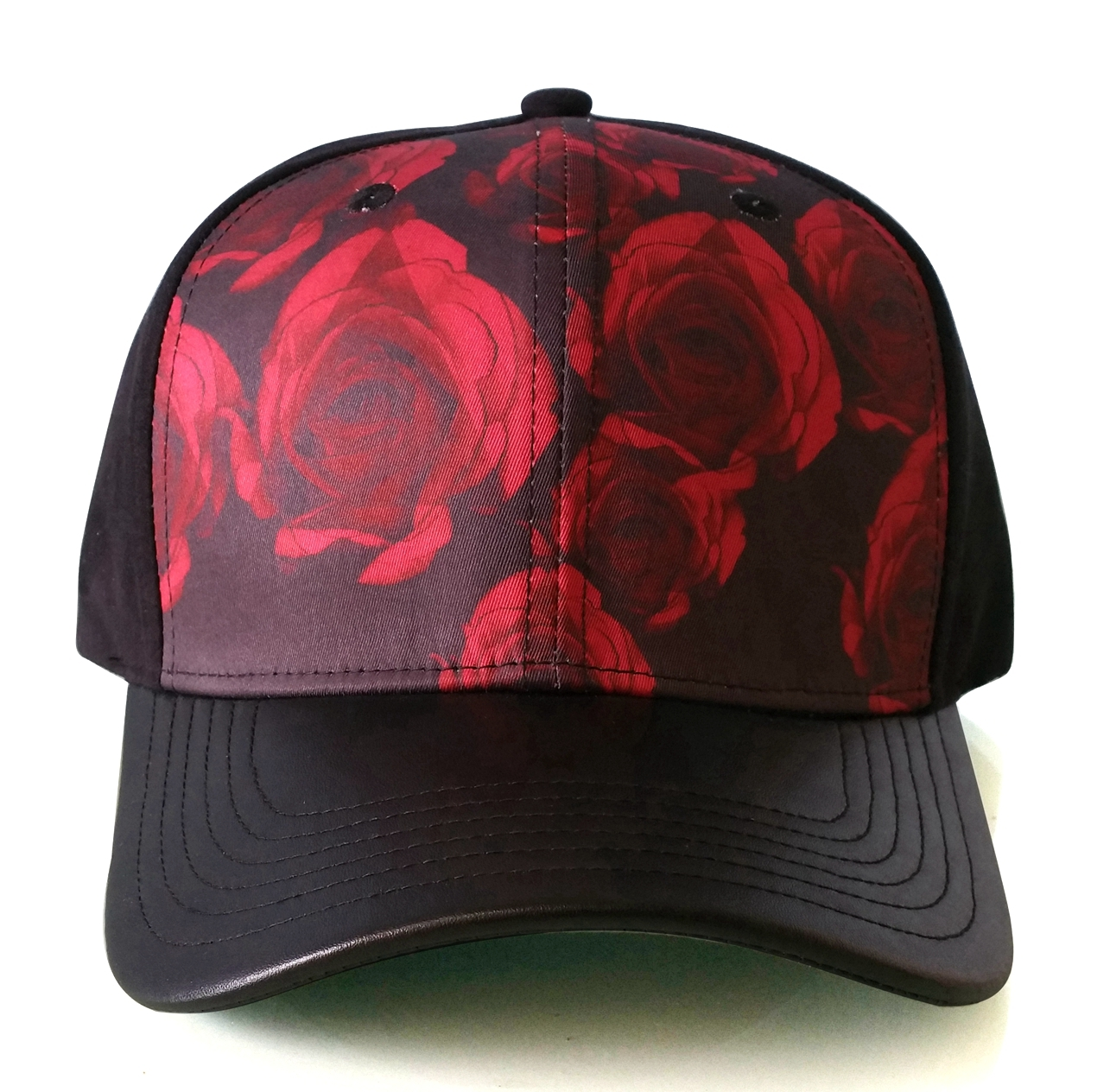 Custom printing crown no logo baseball cap manufacturer