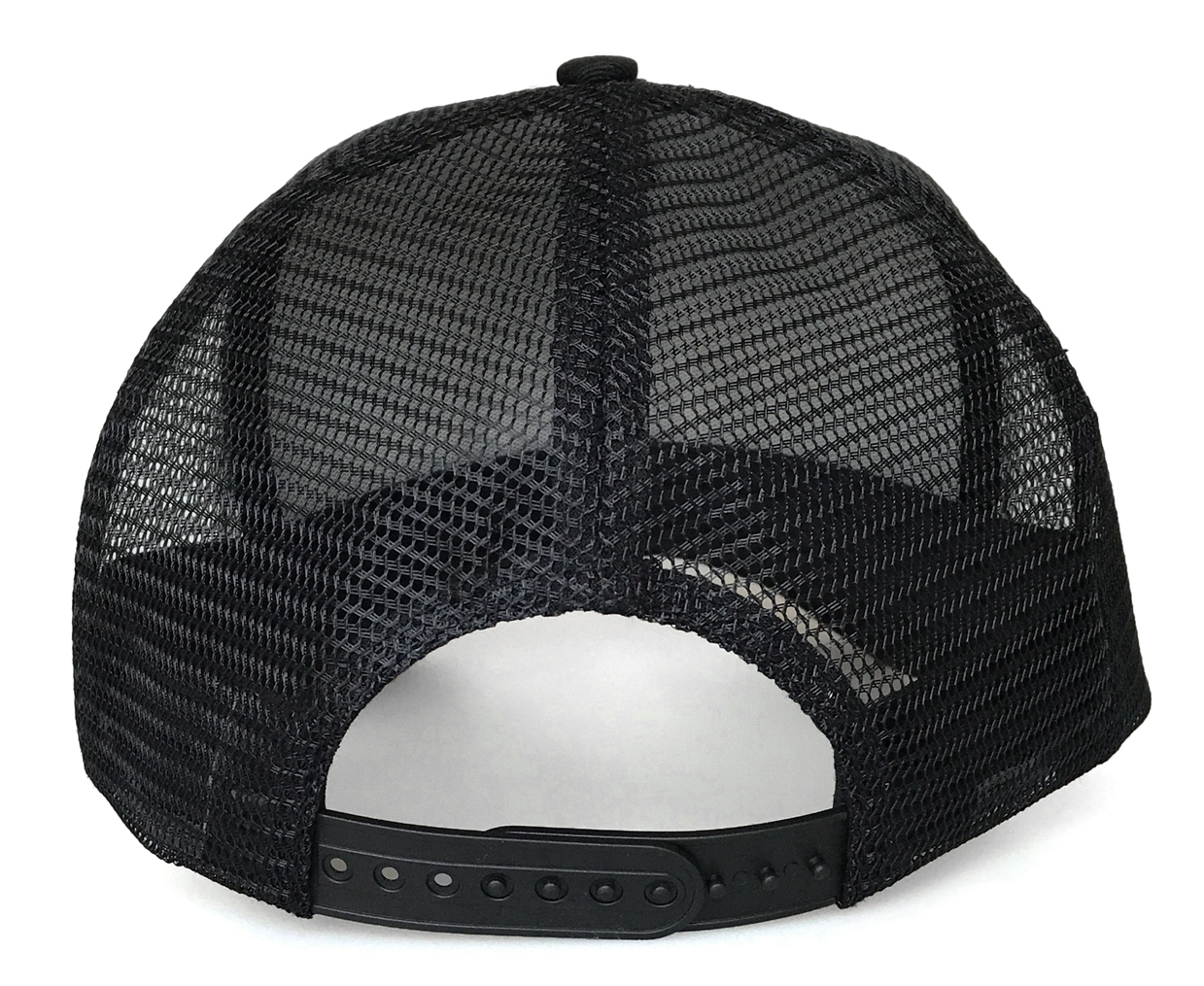 Popular 3D embroidery black 5 panel style trucker hat