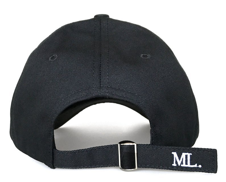 Fashion design black cotton 6 panel baseball cap supplier