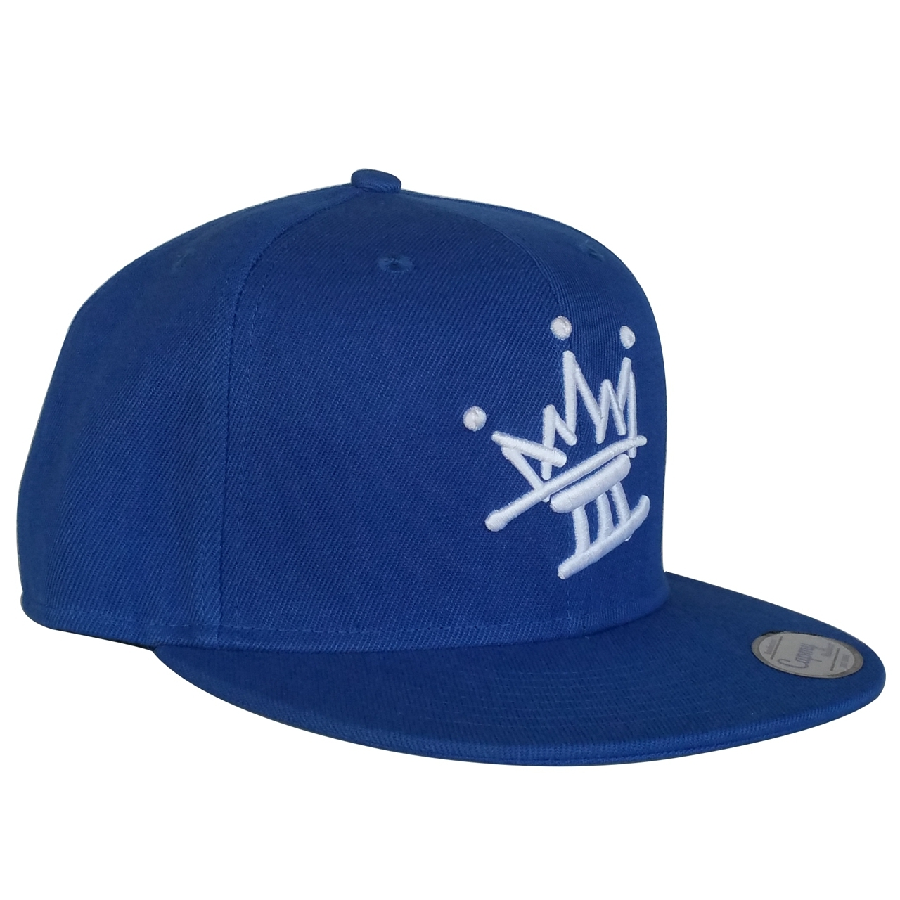 High quality royal blue baseball cap supplier for sports hat