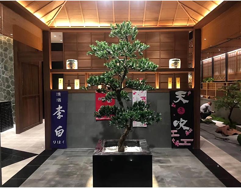 high quality artificial pine tree fake plants bonsai Quality Fake Plants