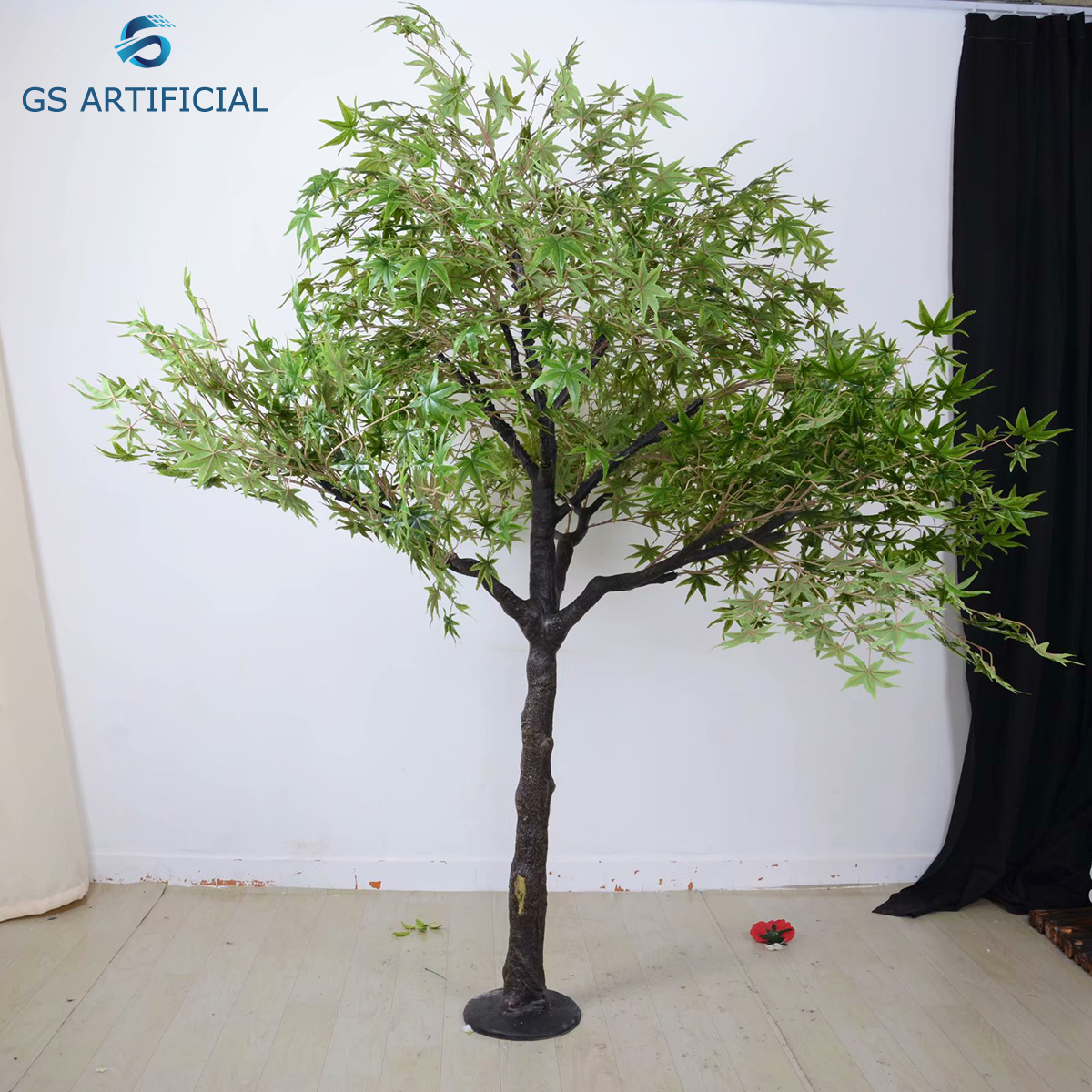 Outdoor Decoration Wood Fake Tree Artificial Maple Tree