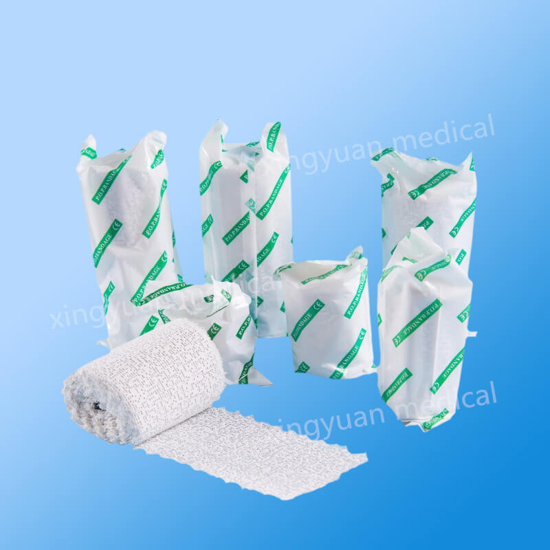 Medical Gypsum Tape, Orthopaedic Cast Bandage, POP bandage