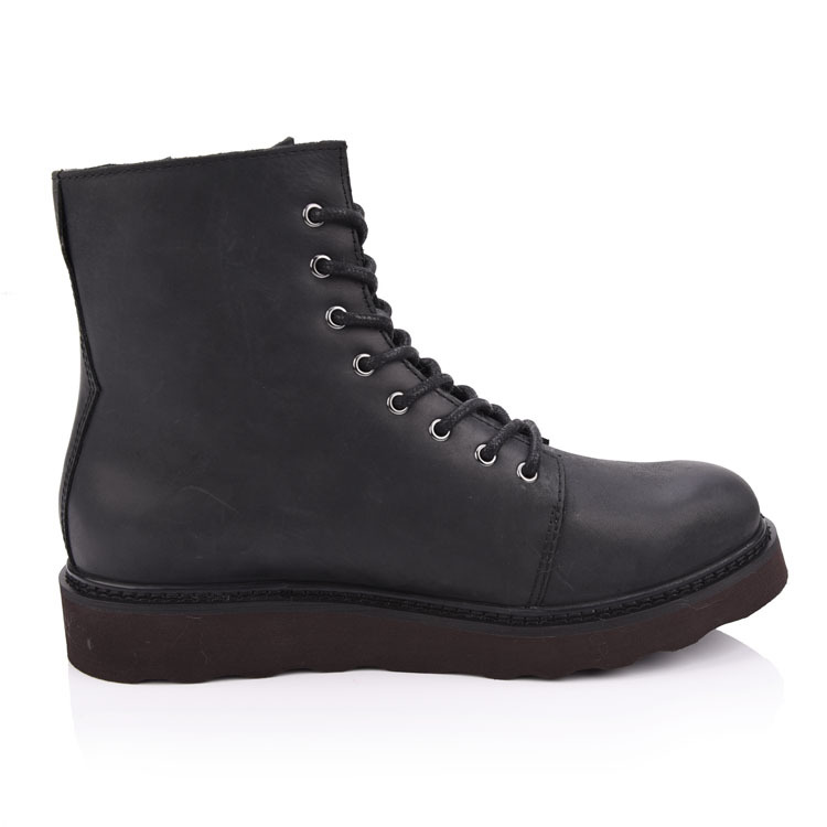 Chelsea men boots leather shoes supplier china