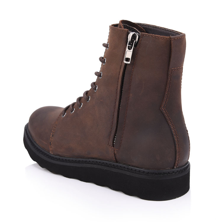 Genuine leather chelsea men boots shoes company