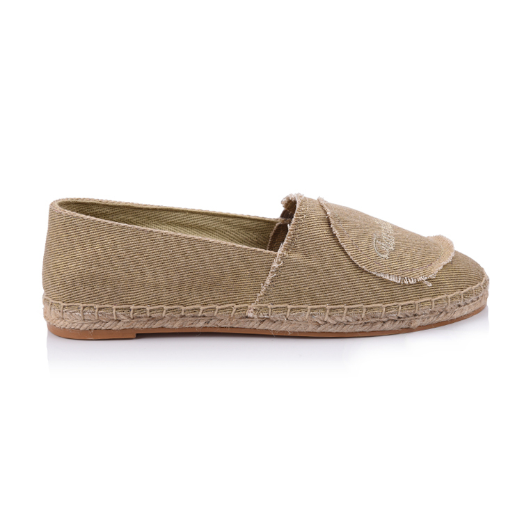 Espadrilles laies flat fabric shoes china manufacturer