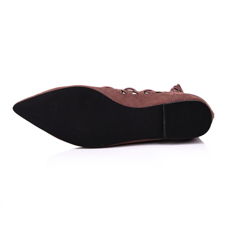 ladies lace up ballet flats leather shoe manufacturer and fa