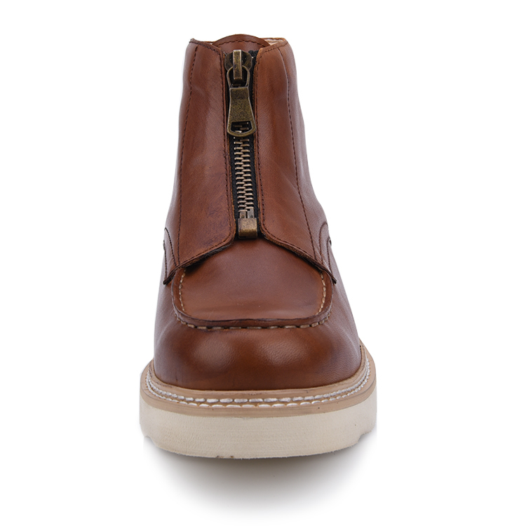 Men's leather chukka boots shoes footwear manufacturer