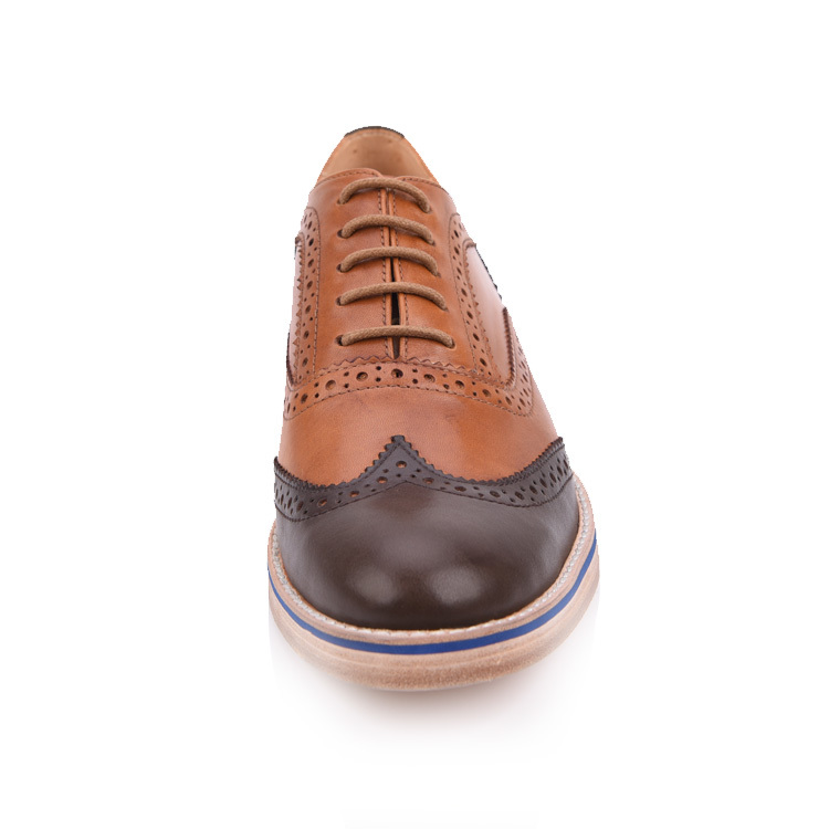 mens brogues shoes factory in china
