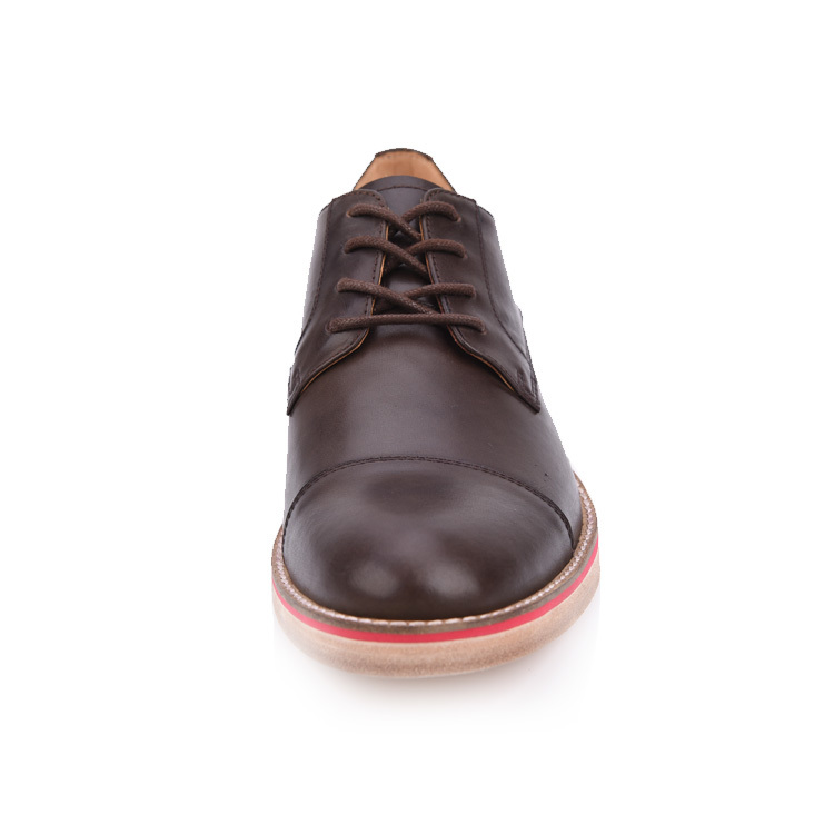 mens black leather brogues shoes  factory