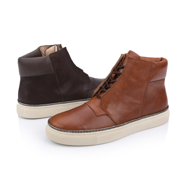 men casual leather boot shoes suppliers and manufacturers