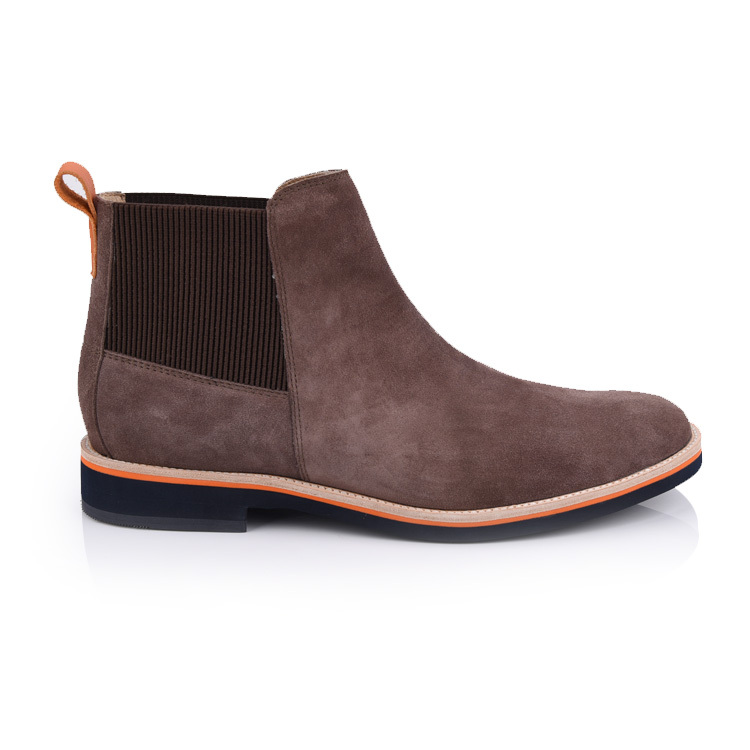 men's suede chelsea boots shoes factory in china