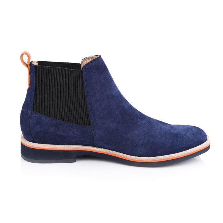mens leather chelsea boots shoes factory in china