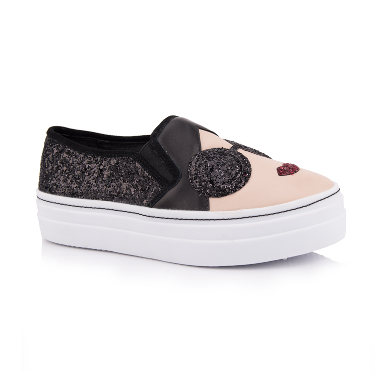 slip-on platform sneakers for women shoes manufacturers
