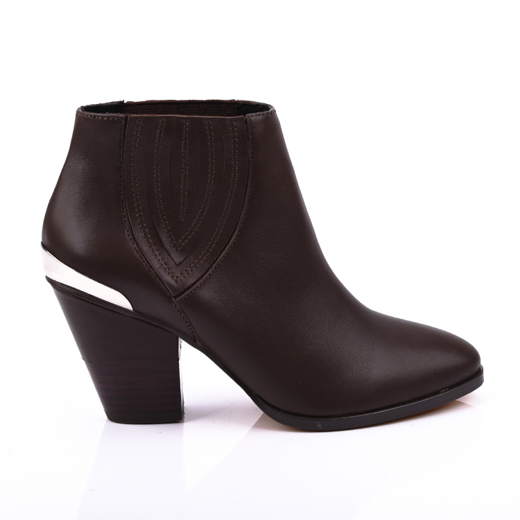 leather ankle boot shoes for women footwear manufacturers